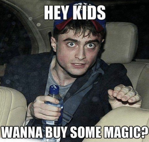 Hey kids wanna buy some magic meme