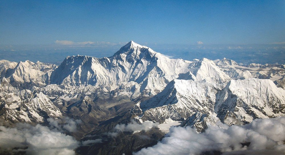Mount Everest as seen from Drukair2