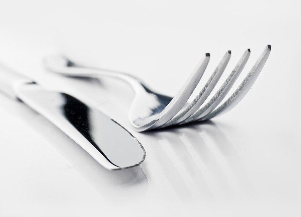 Utensils fork knife