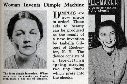 Dimple machine 1936 image