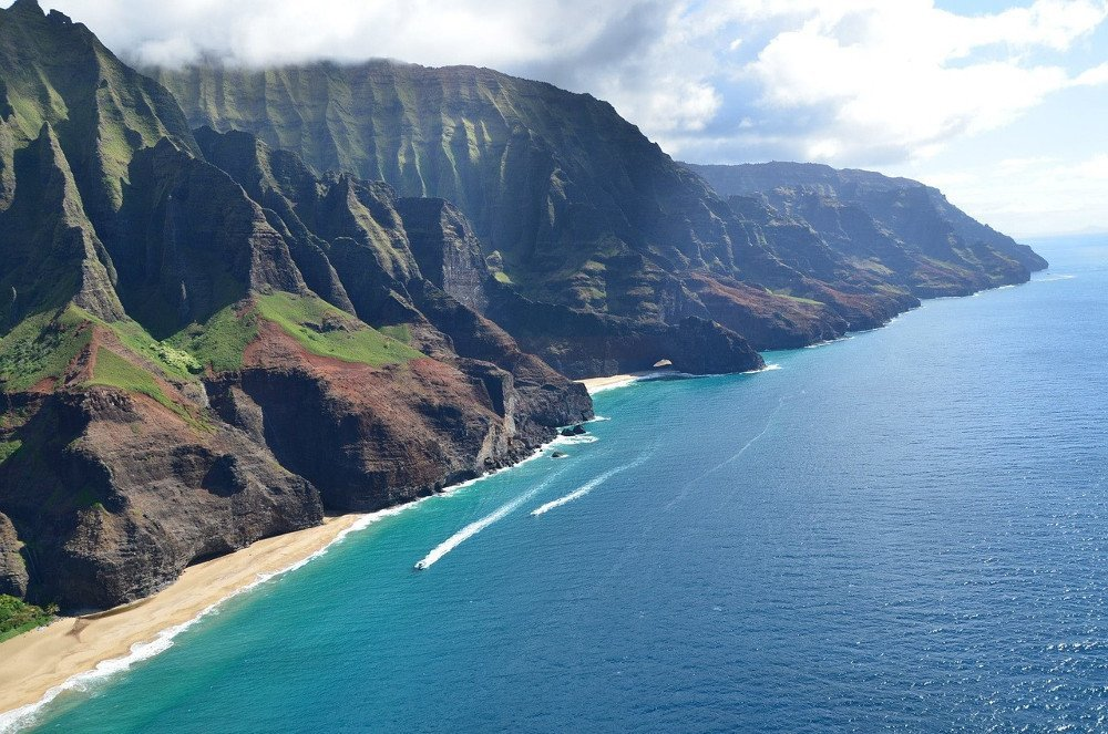 Hawaii island beach