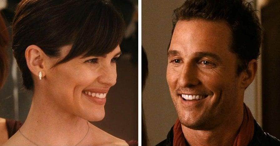 Jennifer Garner & Matthew McConaughey in movie Ghosts of Girlfriends Past