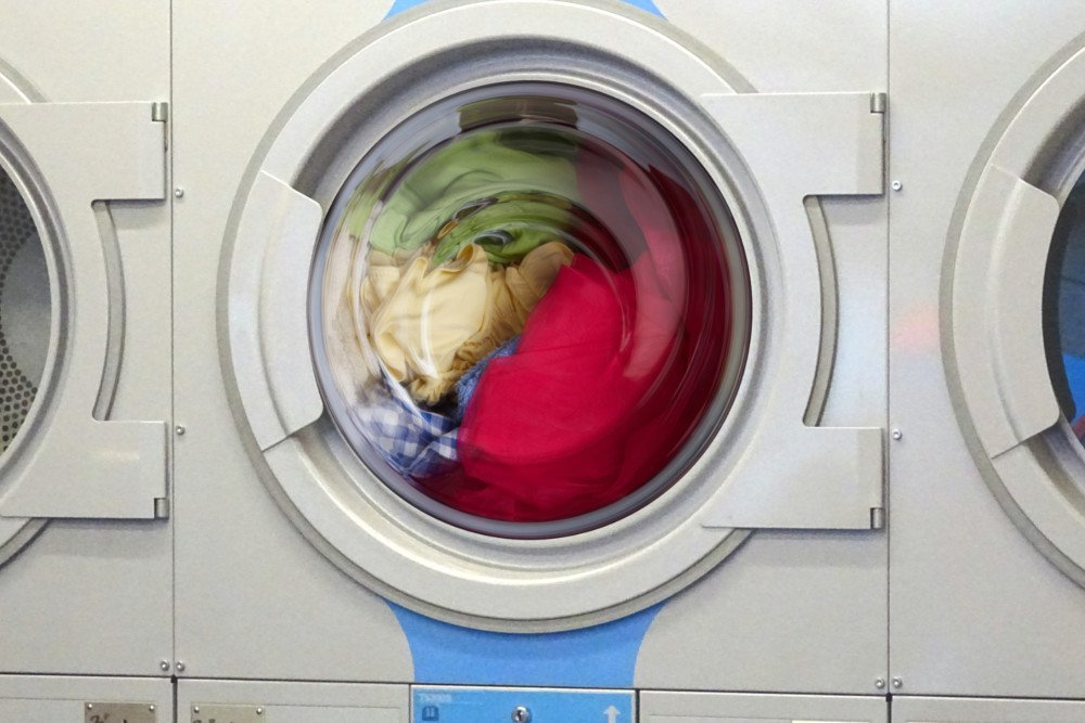 Cloth washing in washine machine
