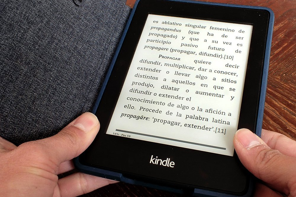 kindle resolution