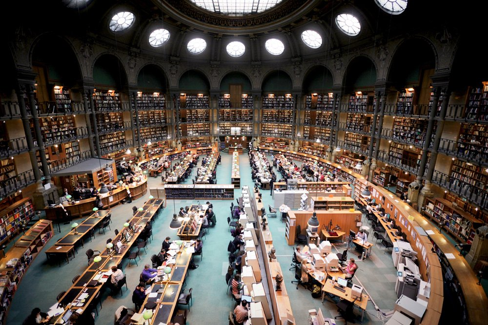 Paris library