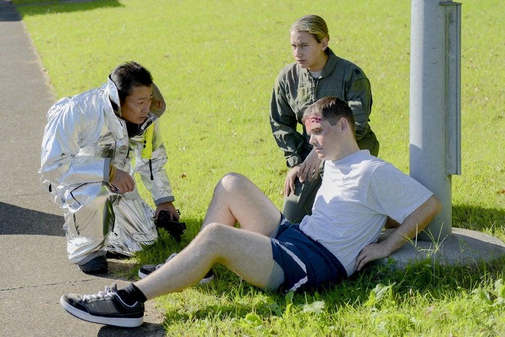 injured man, falling man, sick man, accident, injury