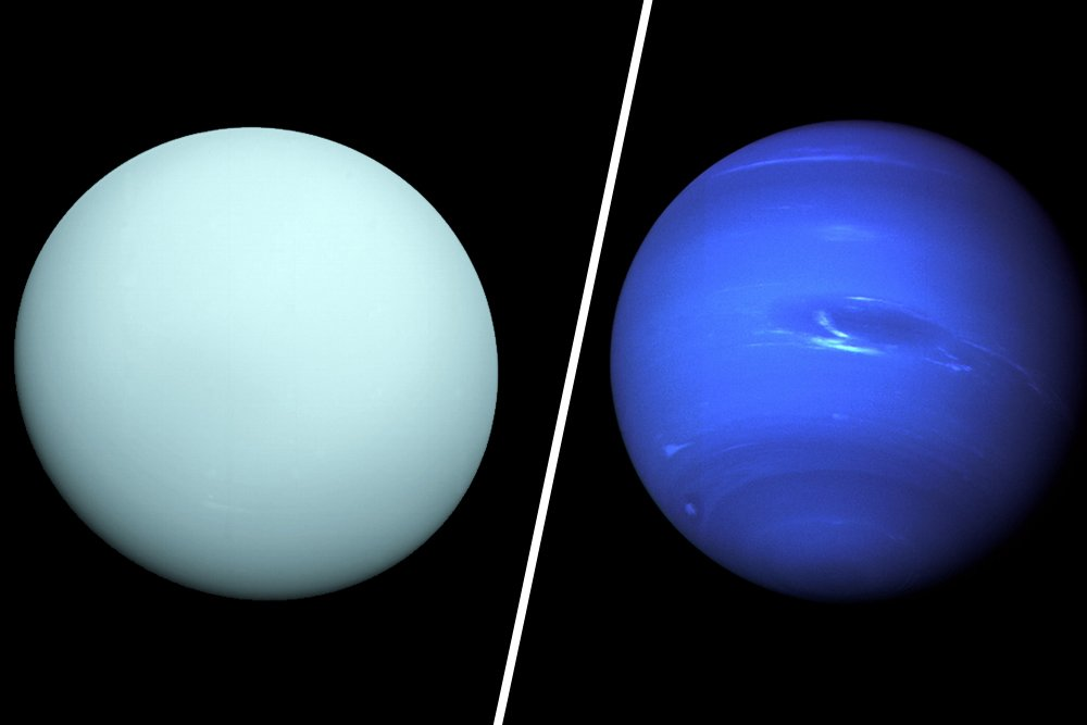 uranus and naptune