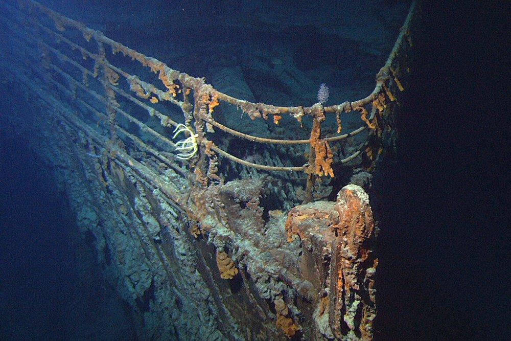 wreck of titanic