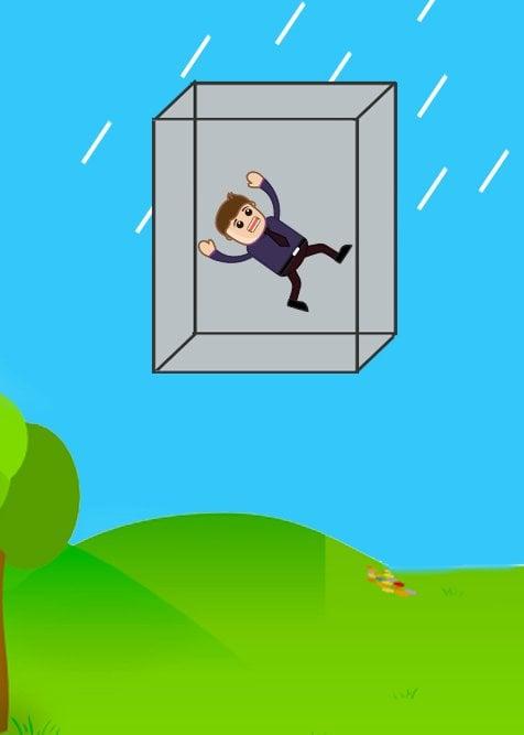 Floating in elevator