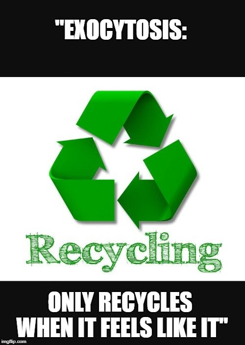 Only Recycles When It Feels Like It meme