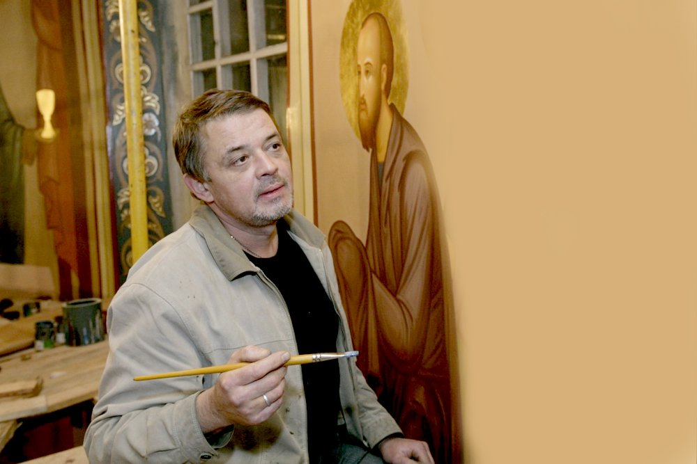 artist ,painter, thinking