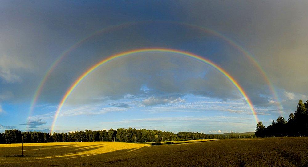 doube rainbow