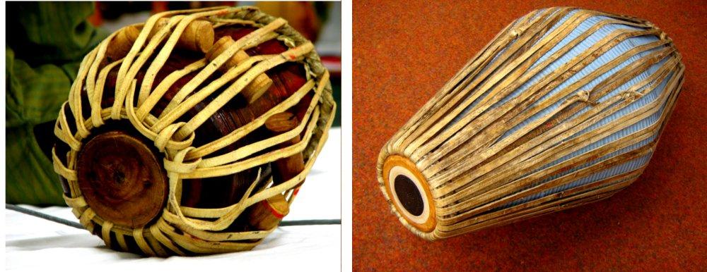 tabla and mrudung