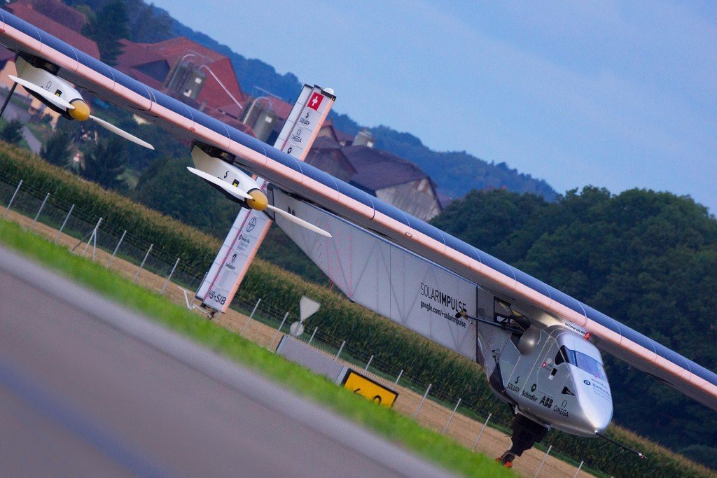 Solar Impulse aircraft