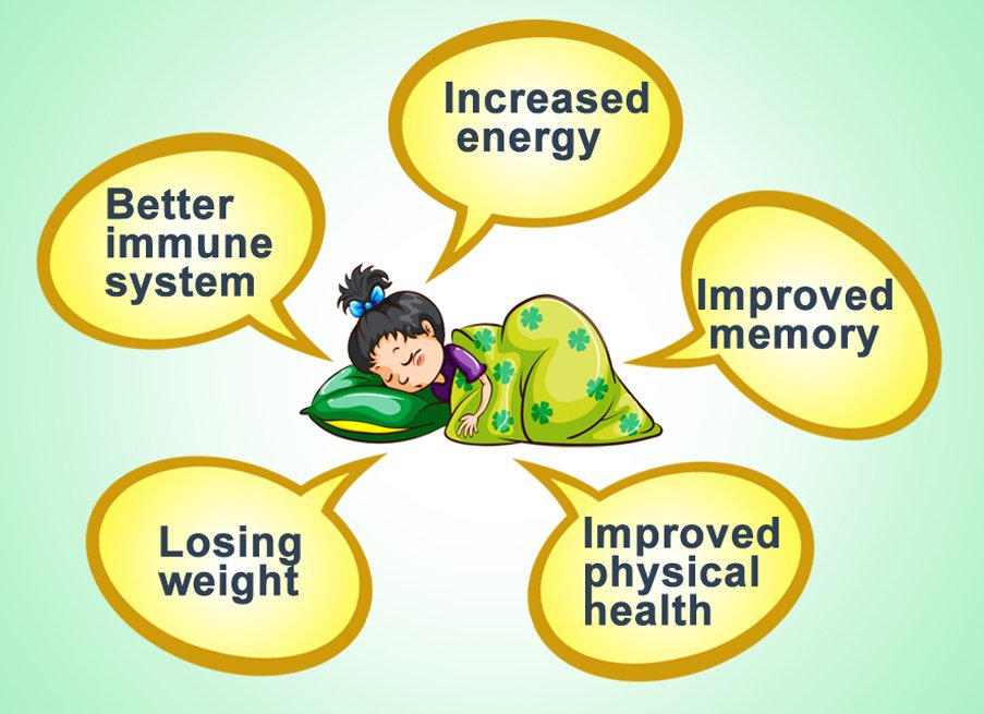 benifit of healthy sleep