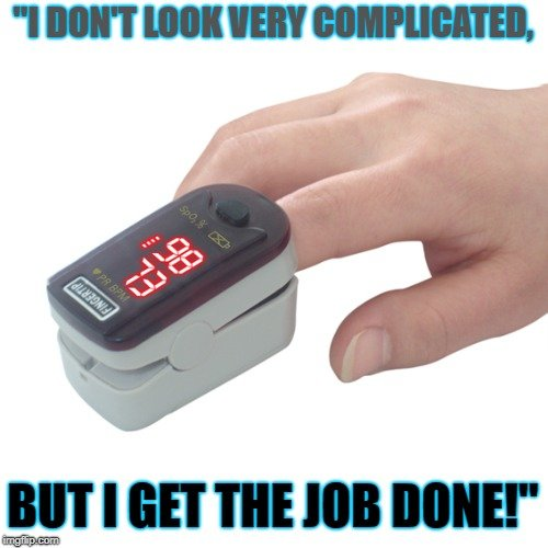 but I get the job done meme