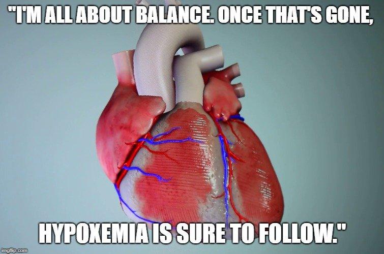 hypoxemia is sure to follow meme