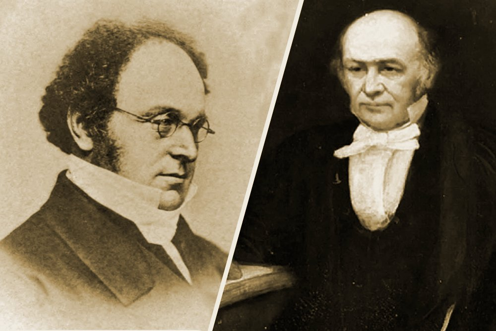 Augustus De Morgan and William Rowan Hamilton