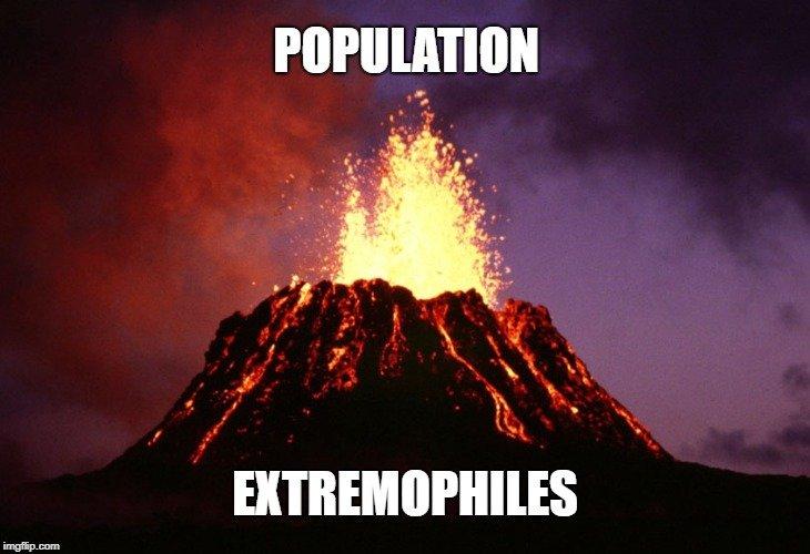 Extremophiles meme