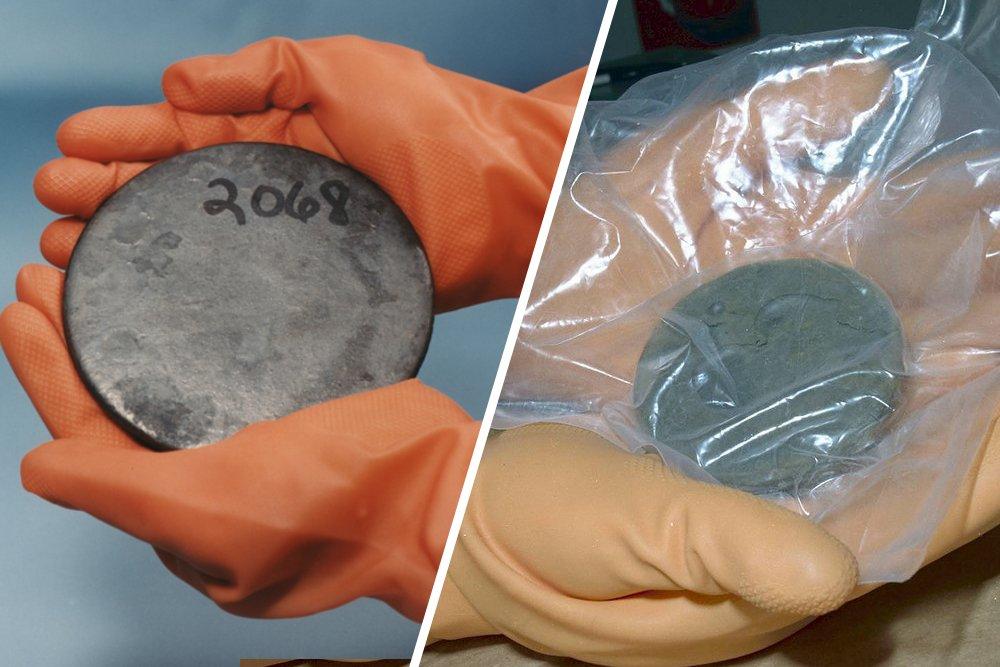 plutonium and uronium