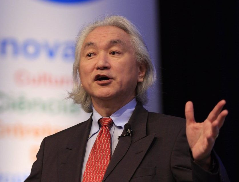 Michio Kaku renowned science communicator