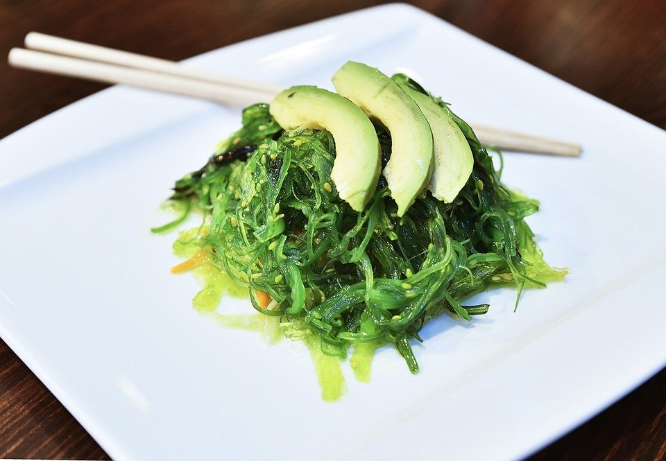 Wakame Salad Seaweed Food Cooking