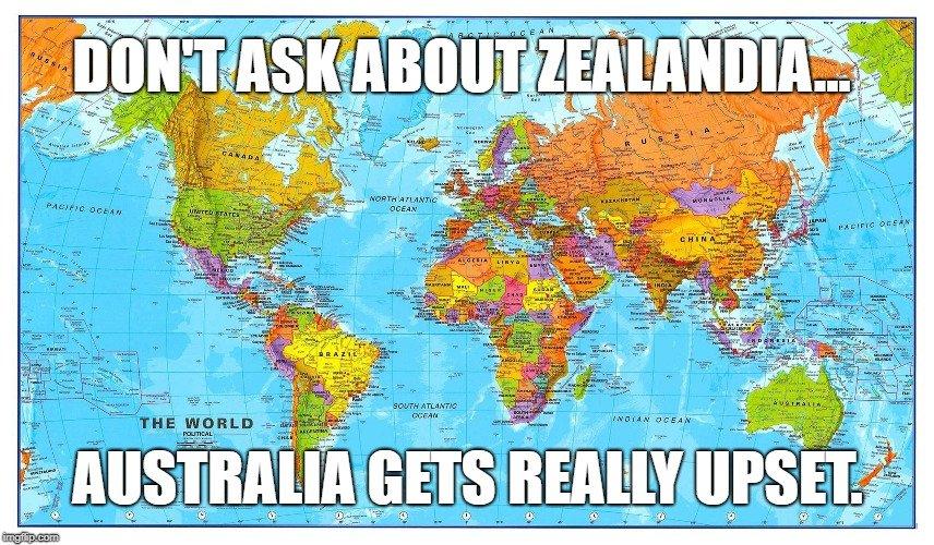 Australia gets REALLY upset meme