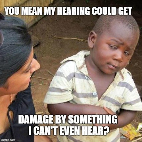 You mean my hearing could get meme