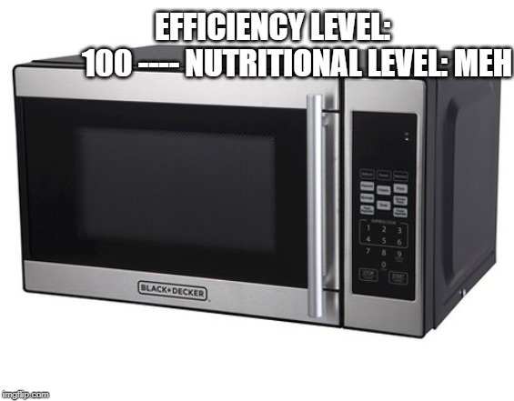 Nutritional Level Meh meme