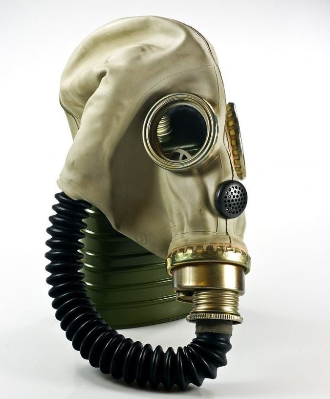 Polish MUA gas mask