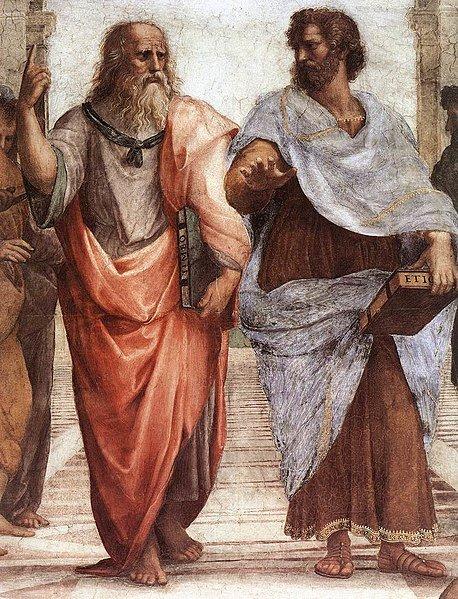 Sanzio Plato Aristotle