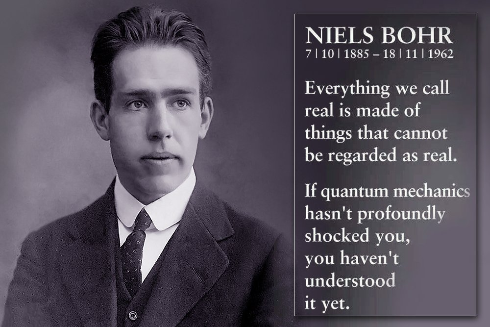 Niels Bohr quantum quote