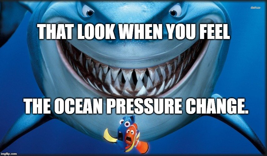 the ocean pressure change meme
