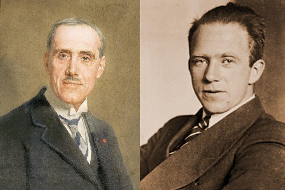 Heisennberg and Maurice de Broglie