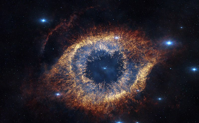Supernova of a supermassive star
