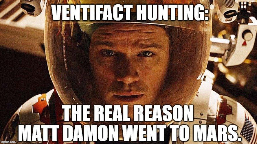 Ventifact Hunting meme