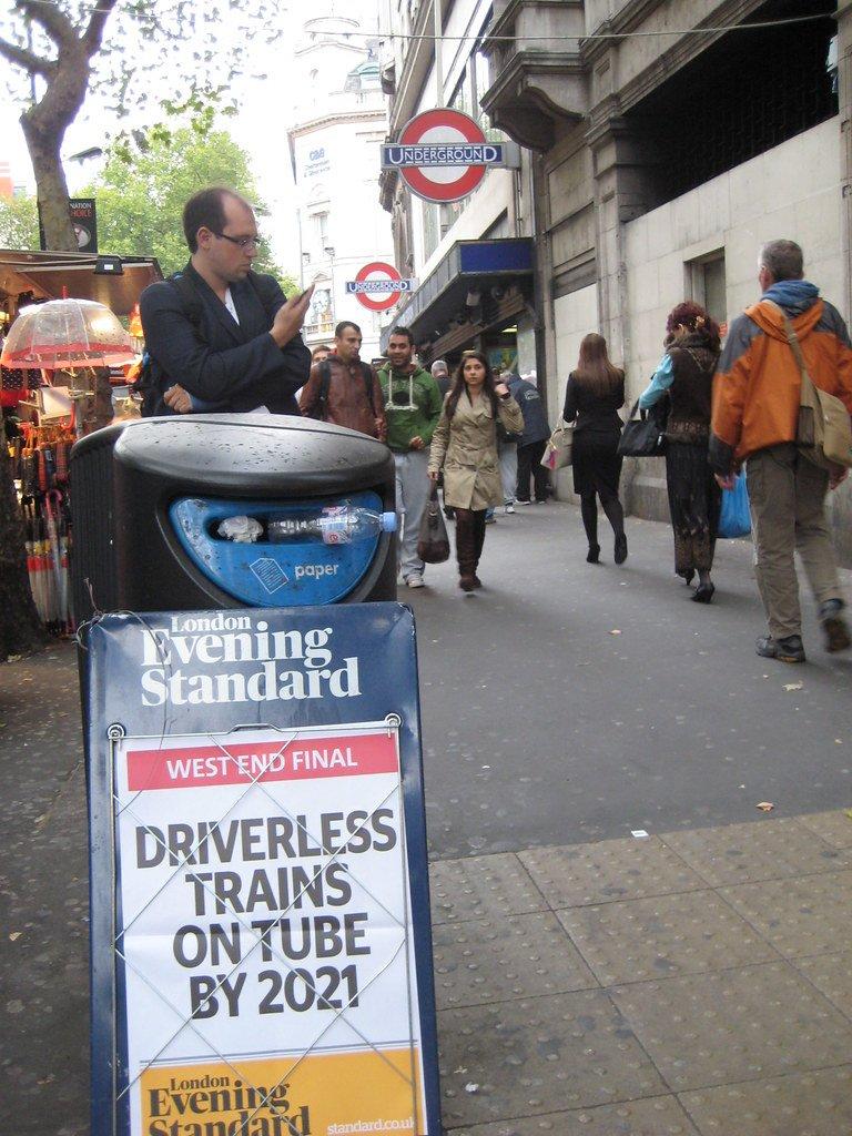 driverless train