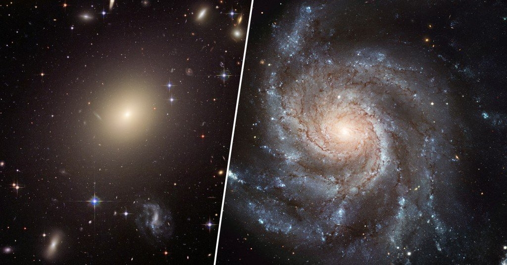 spindle galaxy and pinwheel galaxy