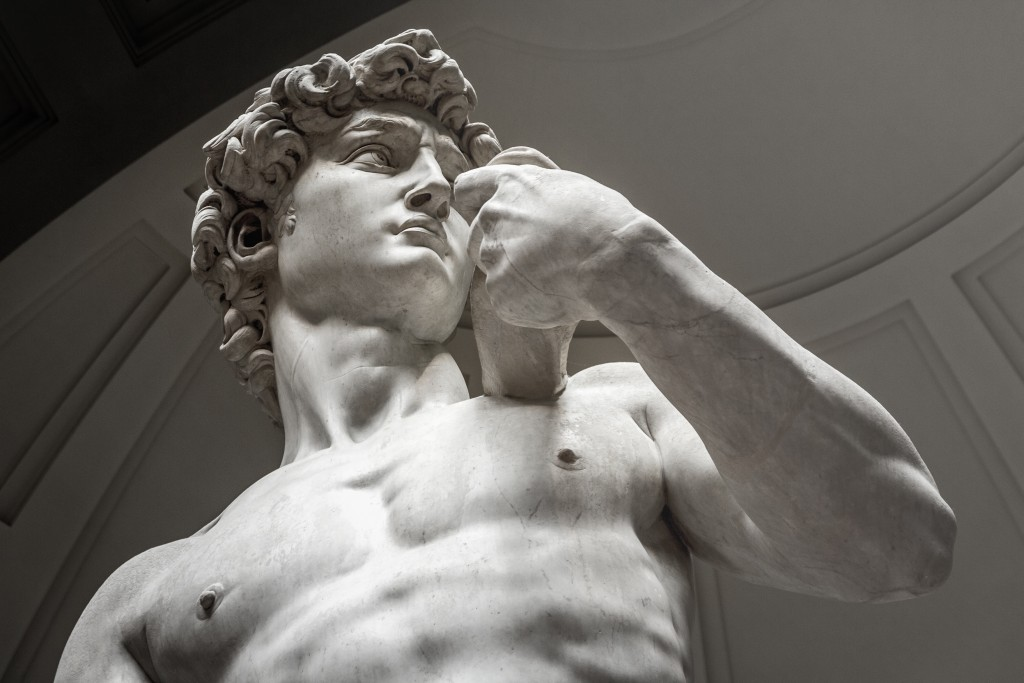 David by Michelangelo, Florence. Italy. - Image(QQ7)s