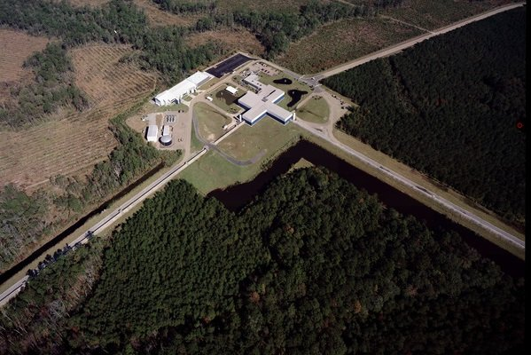 Ligo livingston aerial