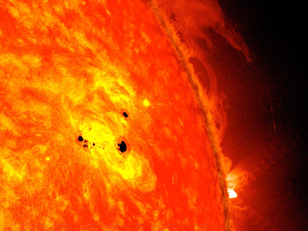 "Coronal loops, What Are The ""Fire Loops"" That Come Out Of The Sun?, Science ABC, Science ABC"