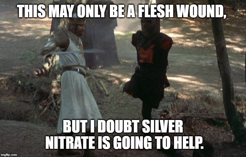 but I doubt silver nitrate is going to help meme