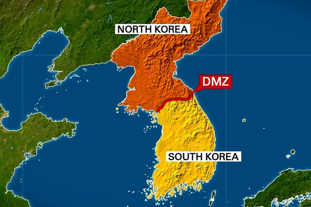 north and south korea divide