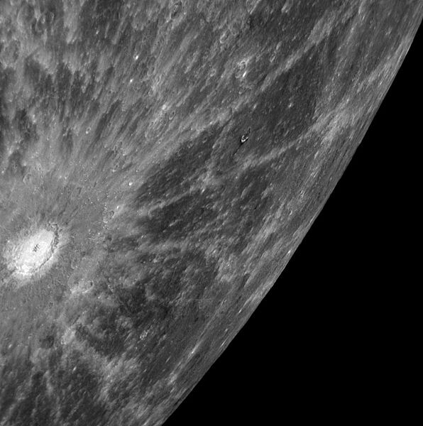 Debussy crater