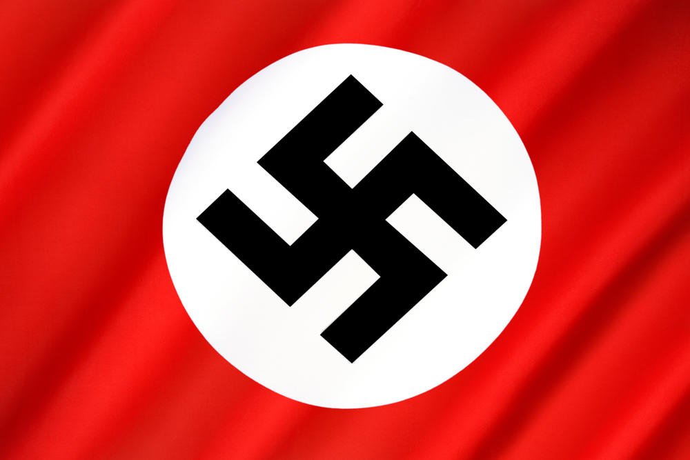Nazi Flag - Third Reich and World War II (1933 to 45). Following Hitlers elevation to the position of Fuhre( Steve Allen)s