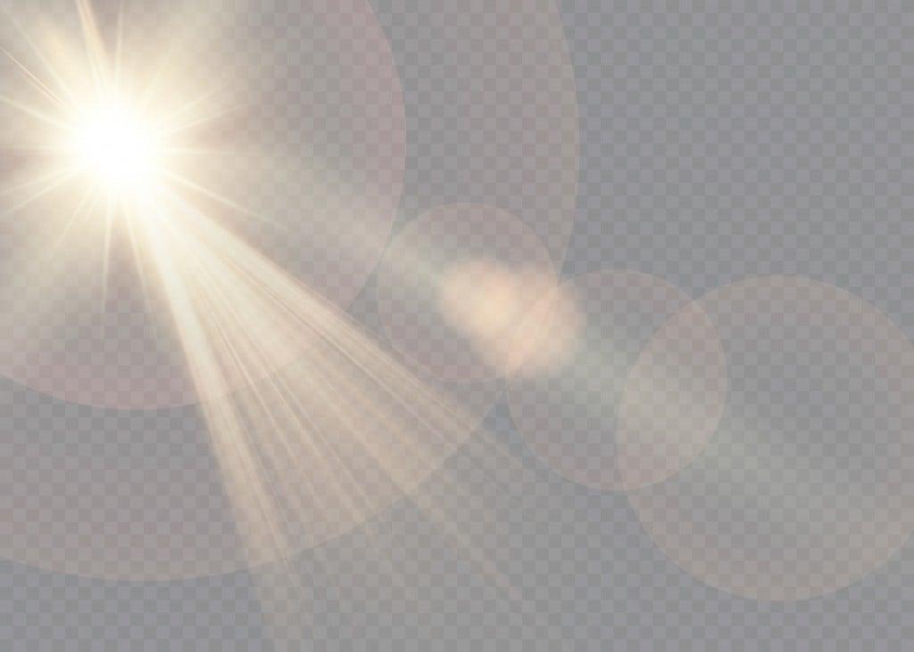 Vector transparent sunlight special lens flare light effect. - Vector(LIUDMILA)s