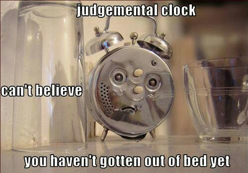 judgmental clock meme