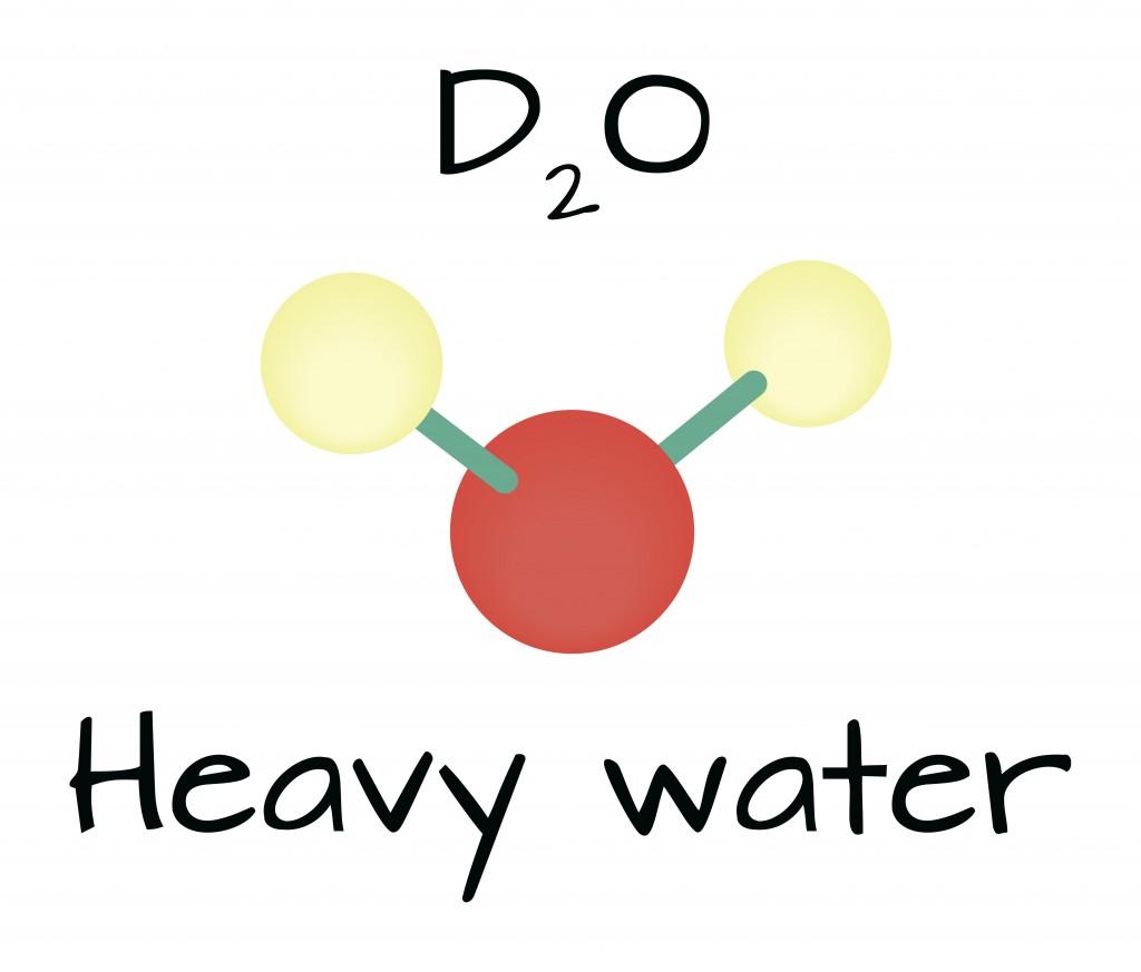 molecule D2O Heavy water - Vector(Shmitt Maria)S