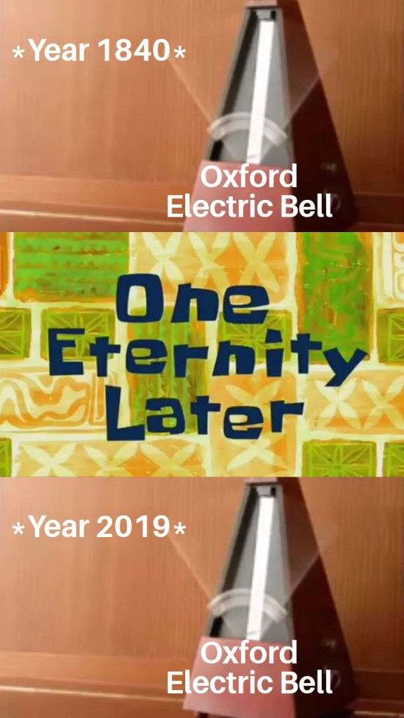 oxford electric bell meme