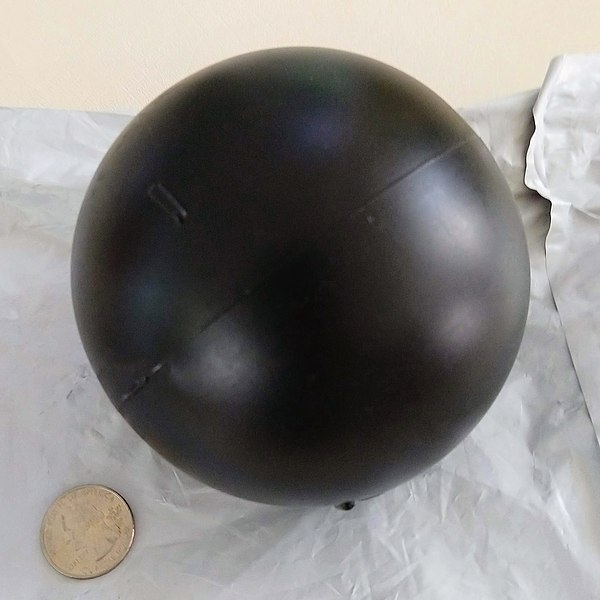 A single shade ball